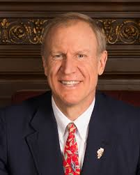 Rauner was elected in 2014. Foster represents Illinois' 11th district.