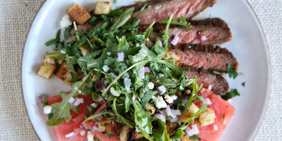 Flank Steak with Watermelon Salad | The Times Weekly | Community ...