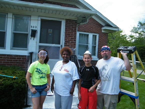 Despite the hot sun and warm temperatures, 200 volunteers were hard at work last week painting, hammering, and sawing at ...