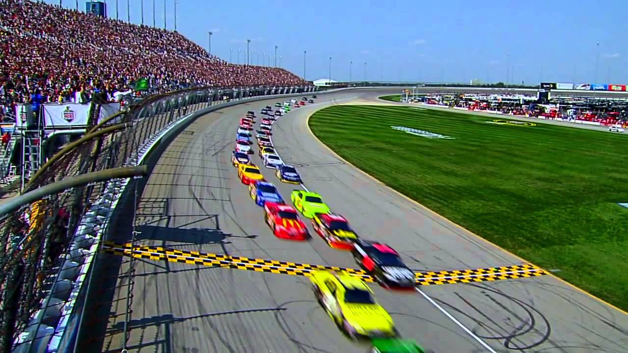 Race to Chicagoland Speedway w...