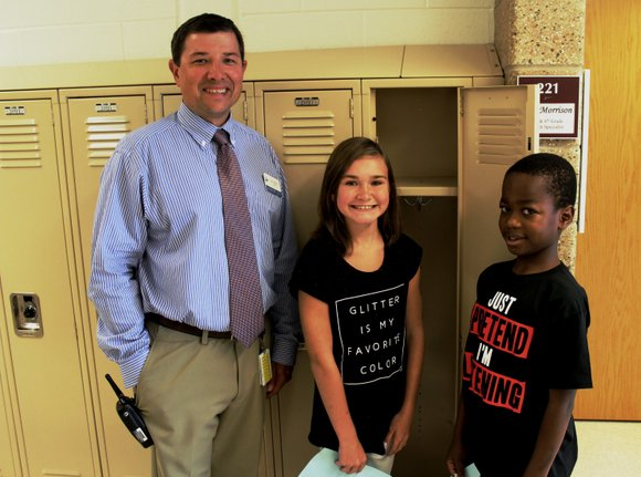 Hundreds of students who will be attending William B. Orenic Intermediate School for the first time this year met for ...