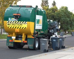 The Presidents' Day holiday on Monday will not affect Waste Management's schedule.