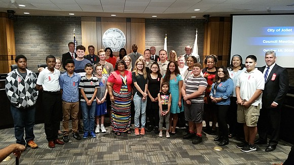 The Joliet City Council approved a proclamation Tuesday declaring October 23-31 as Red Ribbon Week. The theme of the 2016 ...
