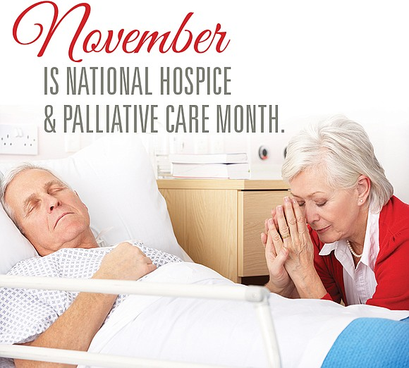 November is National Hospice and Palliative Care Month and hospices across the country are reaching out to help people understand ...
