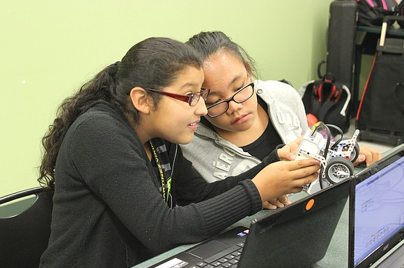 Several dozen Valley View School District 365U students are learning to design, build and program robots this semester thanks to ...