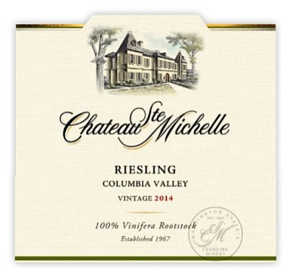Chateau Ste. Michelle Columbia Valley Riesling 2014 ($8) is one of the real values for this Holiday Season. Its a ...