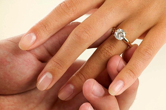 What does an engagement ring look like? For many people, my wife included, the answer is a diamond ring. While ...