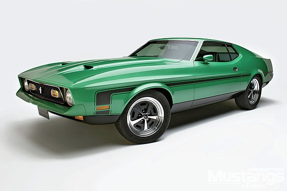 "CHICAGO — Angela Babala and ""Angel's Garage"" will raffle off a custom 1971 Ford Mustang Mach 1 race car at ..."