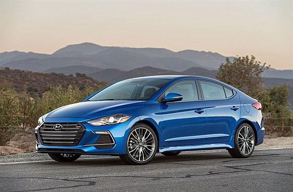 The first thing we noticed about the 2017 Hyundai Elantra Limited was the ride. It rolled down the streets smoothly ...