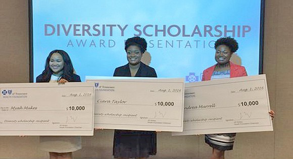 March 1 is the deadline for applicants seeking a BlueCross Blue Shield of Tennessee Health Foundation Diversity Scholarship for 2017.