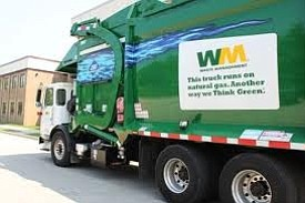 Waste Management presented Will County Board leadership with a $650,000 host community benefit check for the Laraway Recycling and Disposal ...