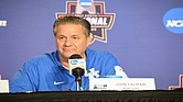 John Calipari talks Kentucky, Memphis, the tournament and more. (Photo: Karanja A. Ajanaku)