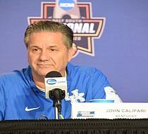John Calipari talks Kentucky, Memphis, the tournament and more. (Photo: Karanja A. Ajanaku)