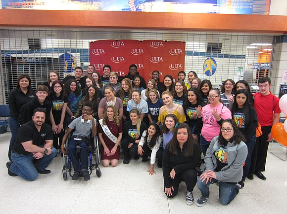 "The Romeoville High School Chapter of Best Buddies hosted the 12th annual ""Guys and Girls Afternoon,"" on March 19. High ..."