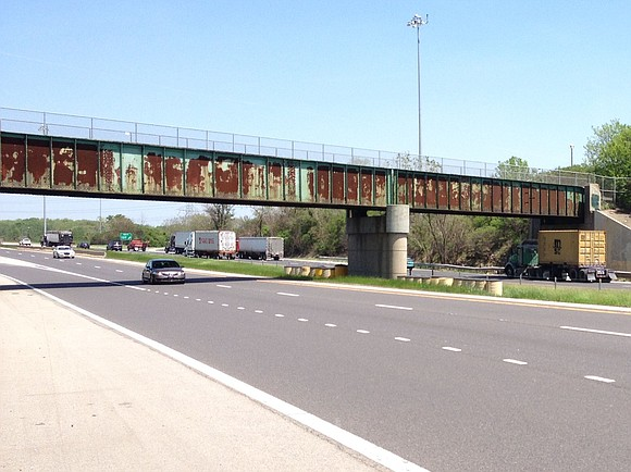 Old Plank Road Trail users will soon have a new bridge to ride, walk and run on as they pass ...