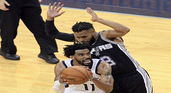 Stretch run by San Antonio was just too much for Memphis to overcome.