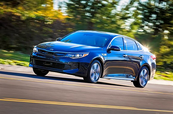 The first thing we noticed about the 2017 Kia Optima Hybrid was its smoothness. This sedan was really silky on ...