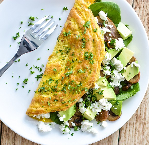 YIELDS 1 OMELET / Total Time 20 mins Ingredients ▪ 1-2 tablespoons olive oil ▪ 3 ounces sliced mushrooms of ...