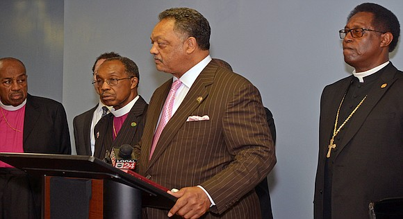 Rev. Jesse Jackson to address City Council; Community Wide Rally set for Greenwood CME Church.