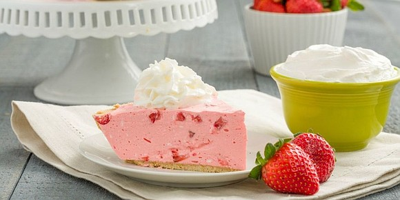 INGREDIENTS • 1 1/3 c. Water, Divided • 1 packet Strawberry Jell-O mix • 1 8-oz container cool whip • ...