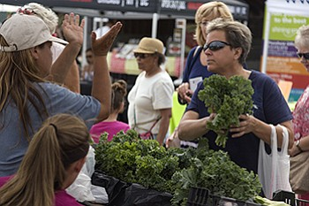 Joliet Junior College recently held the grand opening for the fifth season of summer farmers market. The market is open ...