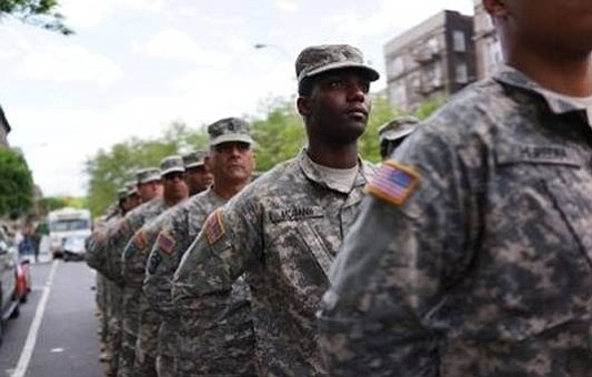Blacks serving in the four branches of the military are disciplined at much higher rates than whites with the disciplining ...