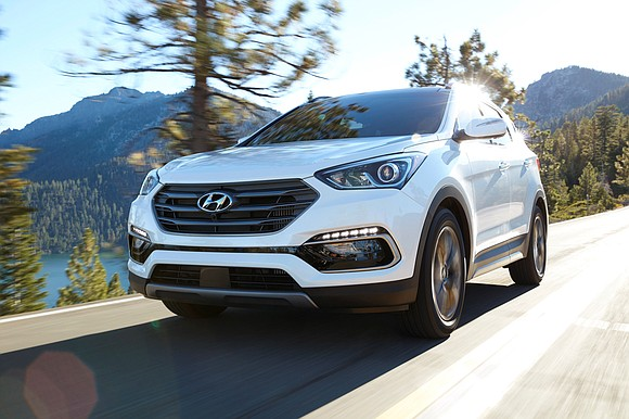 We were impressed when we arrived here for a quick four-day visit and they brought us a 2017 Hyundai Santa ...