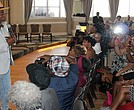 """David Banner delivered a message that he said """"must be heard."""" (Photo: Lee Eric Smith)"""