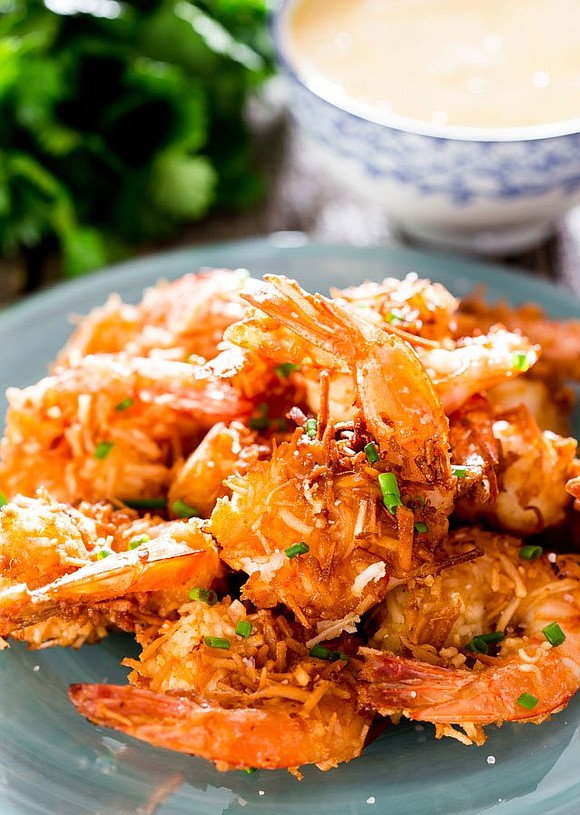 Servings: 4 / Total Time 35 mins Ingredients • 1 lb jumbo shrimp tails on • 1 cup breadcrumbs • ...
