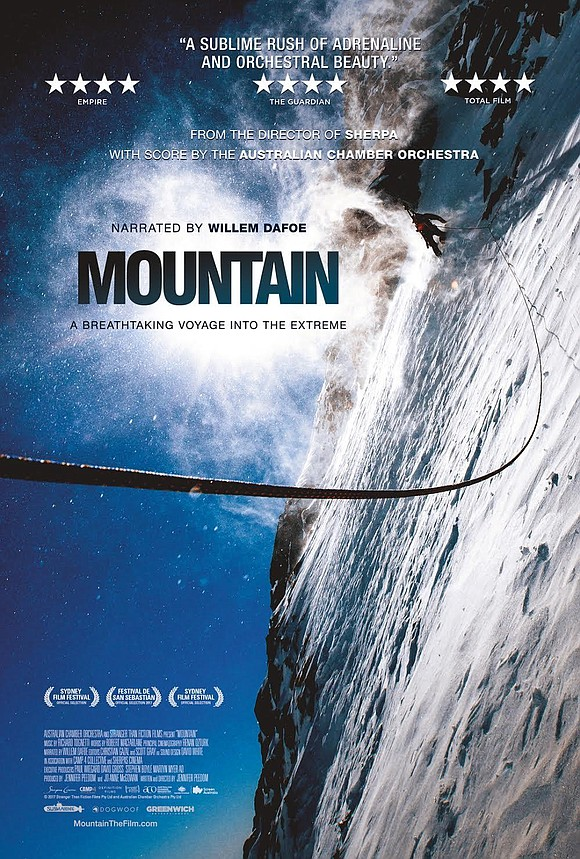 MOUNTAIN, the sweeping cinematic and musical journey among the world's highest peaks, opens this weekend in theaters everywhere and is ...