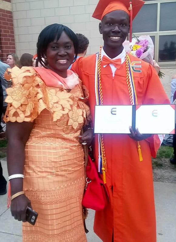 Plainfield East High School graduate Joshua Kayiwa earned a four-year full-ride scholarship to Vanderbilt University through the national QuestBridge Scholarship ...