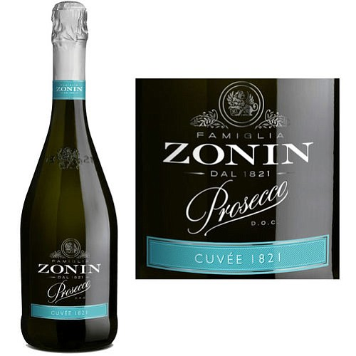 Zonin Cuvee 1821 Prosecco DOC is the benchmark for great Prosecco. This is one of the highest rated Italian sparkling ...