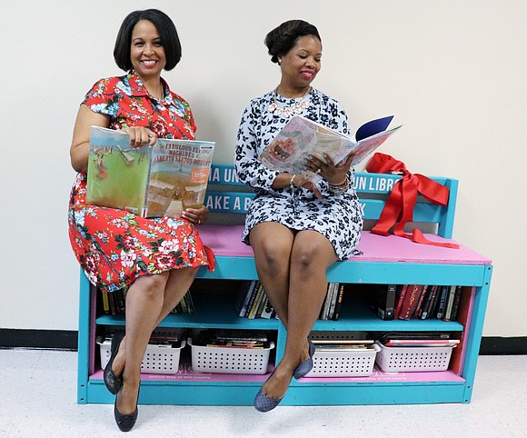 Mallory and Monroe belong to the Read to Succeed program, which is made up mainly of area teachers. Read to ...
