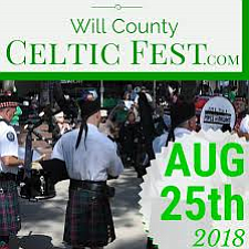 Families will celebrate Irish music, culture and heritage Saturday, August 25, 2018 when the annual Will County Celtic Fest is ...