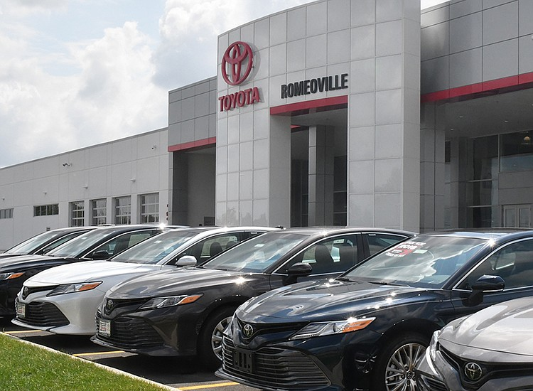 Romeoville Toyota Opens For Business The Times Weekly Community