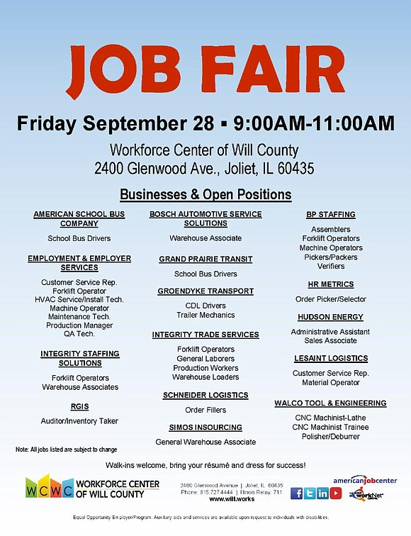 Workforce Job Fair