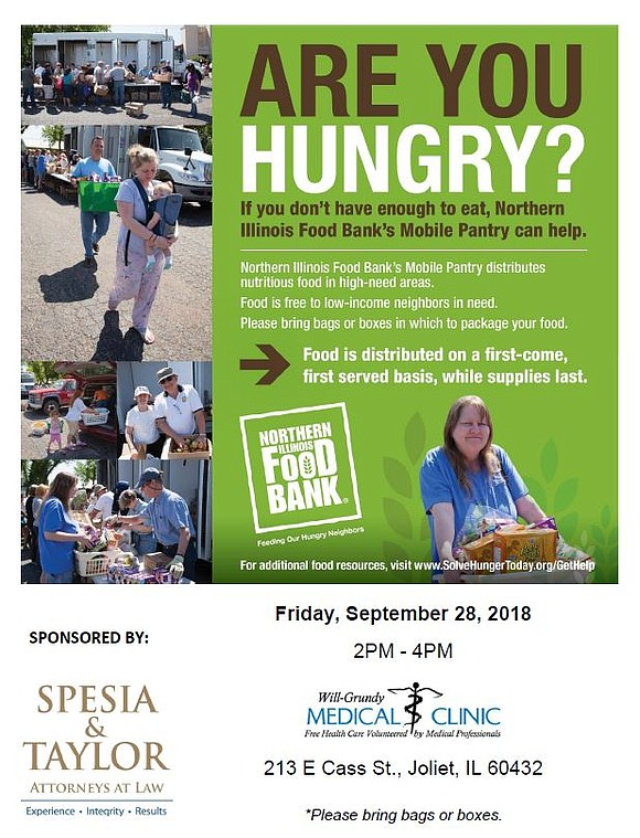 The Northern Illinois food bank's Mobile Pantry can help.