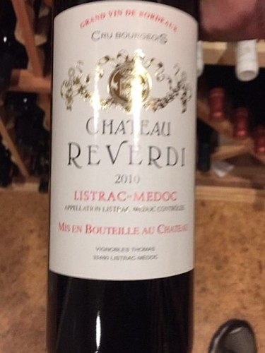 I can't say enough about Chateau Revered 2010 Listrac-Medoc, a Cru Bourgeois Bordeaux blend that absolutely defies all stereotypes about ...