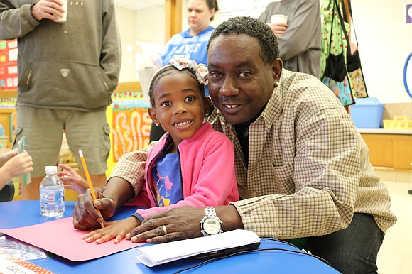 Nearly 200 grandparents attended Pershing Elementary School's Grandparents Day. Grandfathers and grandmothers were invited to the school to visit their ...