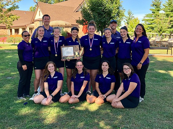 The team made district history as the first JT Girls Golf team to win the SPC Conference. The Joliet Township ...