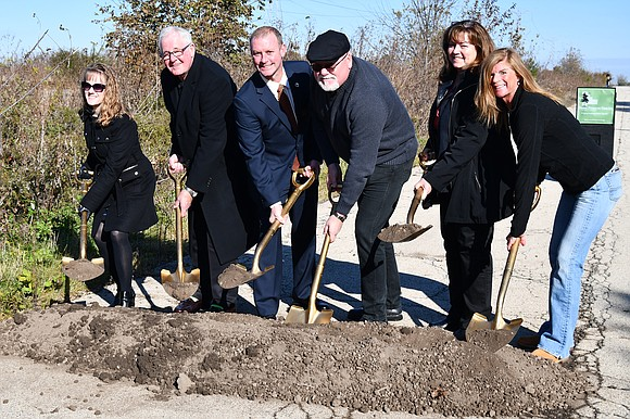 A groundbreaking ceremony held Monday at Rockwell Lane in Plainfield signaled another chapter in the multiyear, multijurisdictional Normantown Trail project. ...