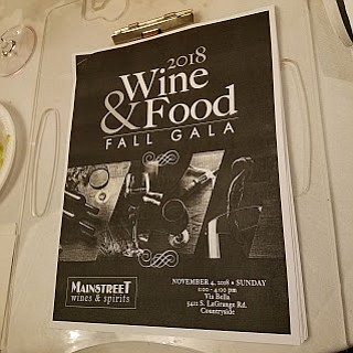 Countryside, IL.--Mainistreet's 2018 Wine and Food Gala was a virtual cornucopia of Holiday delights with over 200 wines poured and ...