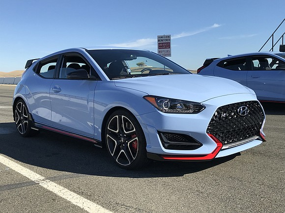 We came here to test drive the next step in Hyundai's future, the 2019 Veloster N. As one executive said, ...