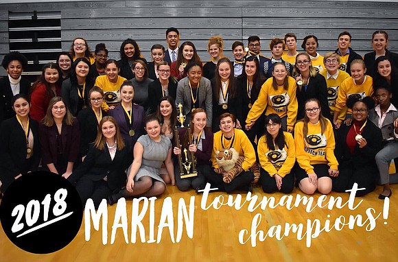 Joliet West High School Speech Team Named First Place Tournament Champions at Marian Classic Tournament The West High School Speech ...