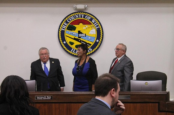 thetimesweekly.com Joliet - Long-time Will County Board member Denise Winfrey (D-Joliet) made history when she was sworn in as the ...