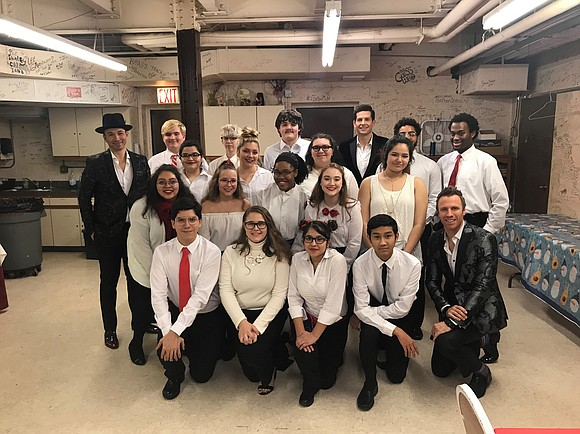 "On December 14, 2018, the Joliet Central High School Steeltones, an extracurricular choir, performed with The Tenors on their ""Home ..."