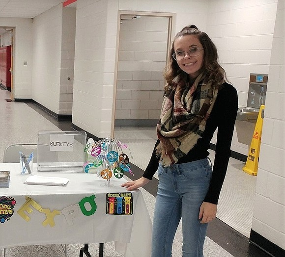 With the assistance of the Joliet Junior College MakerLab, Lemont Township High School senior Hannah Sliwa has her sights set ...