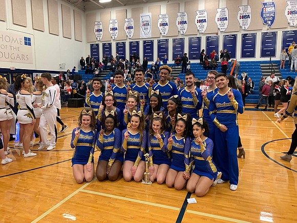 On January 13, 2019, the Joliet Central High School Varsity Cheerleaders placed first out of four teams at the Plainfield ...