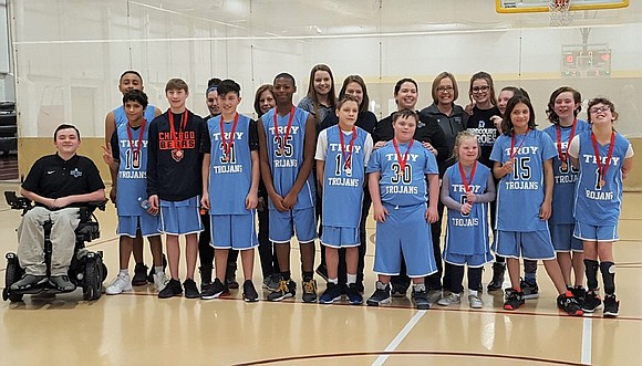 The Troy School District 30-C Special Olympics Basketball Team took third place at the recent Junior Special Olympics Basketball Tournament, ...