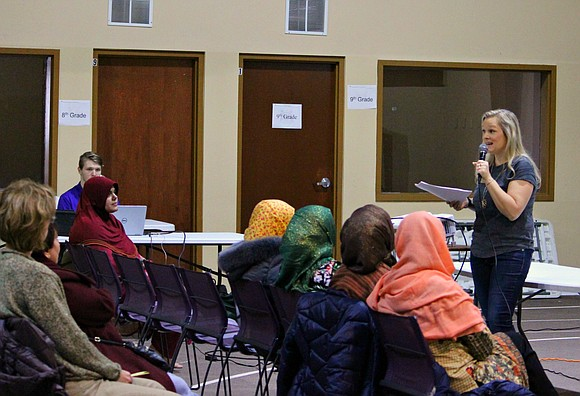 "The Muslim Association of Bolingbrook hosted ""Creating a Safe Home"", a class on easy and affordable ways to kick harmful ..."